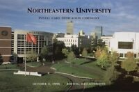 #UX298 Northeastern University Postal Card First Day Ceremony  Program
