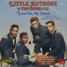 LITTLE ANTHONY & THE IMPERIALS 'Tears on My Pillow' - 2CD Set on Jasmine