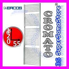 3S NUOVO SCALDASALVIETTE TERMOARREDO CROMATO CROMO RADIATORE BAGNO H 120 x L 55