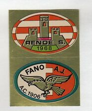 figurina CALCIO FLASH 1981 SCUDETTO RENDE - FANO