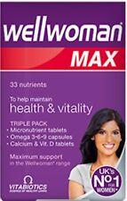 Vitabiotics wellwoman max  -  84 Tablets - UK  No1 For Woman