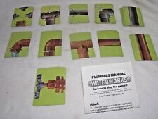 Waterworks Game Leaky Pipes Replacement Full Set Cards Instructions Scrapbook