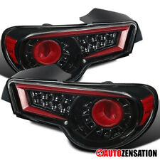 For 2012-2016 Scion FRS Subaru BRZ Toyota 86 Slick Black Clear LED Tail Lights
