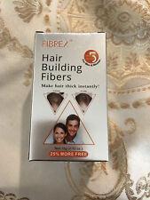 FIBREX Hair Building Thickening Fibers Dark brown 15g (Pack of 3)
