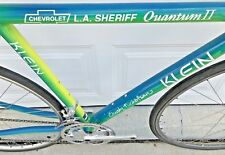 Klein Quantum II Road Bike Chevrolet LA Sheriff Team Issue Dura Ace Group RARE!