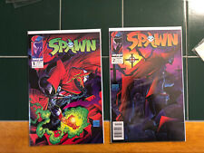 New listing Spawn #1 And Spawn # 2. Todd McFarland. Near Perfect