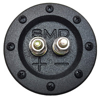 "SMD 1 Channel Heavy Duty Speaker Terminal Grade 8 3/4"" PVC Black Round"