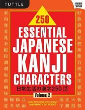 250 Essential Japanese Kanji Characters Vol. 2 by Kanji Text Research Group...