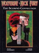 WOLVERINE ~ NICK FURY: The Scorpio Connection (1989, Marvel) NM HC < H CHAYKIN