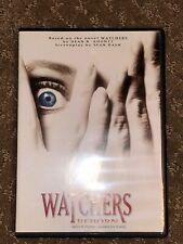 RARE & OOP! Watchers Reborn Dvd! Mark Hamill 1998 Horror Movie Dean Koontz