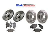 FOR FORD MONDEO MK4 (2007-2015) FRONT & REAR BRAKE DISCS AND BRAKE PADS SET NEW
