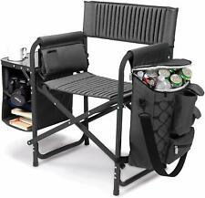 ONIVA Picnic Time FUSION Folding Chair w/Table Shelves Cup Holder COOLER