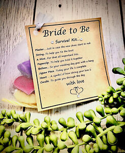 Bride To Be Survival Kit .... Lovely Gift For The Bride To Be ,survival kit...