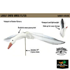 NEW LUCKY DUCK SNOW GOOSE FLYER MOTION DECOY WITH STAKE