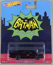 Hot Wheels - Batman 1966 TV Series Batmobile - Real Riders + metal base - MOC