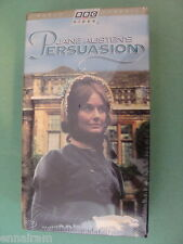 Persuasion (VHS, 1996, 2-Tape Set) Jane Austen BBC