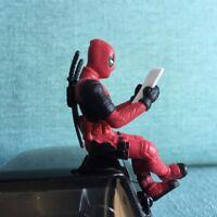 Marvel Deadpool Action Figure Sitting Posture