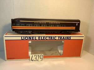 "Lionel O Scale 6-7225 Illinois Central ""Memphis"" Observation Car OB,styrofoam."