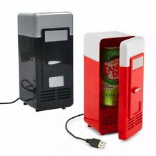 Mini USB Fridge office Cooler Beverage Drink Cans Cooler Warmer Portable Refrige