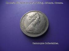 Rhodesia Elizabeth 11 21/2 Shillings. 25 Cents.1964.  AH8383.