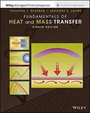 Incropera's Principle of Heat and Mass Transfer, Abridged... by DeWitt, David P.