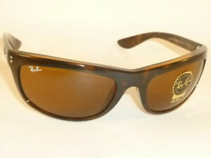 New Ray Ban  BALORAMA  Sunglasses  Dark Tortoise  RB 4089 6508/33  Brown Lenses