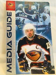 2001-02 Atlanta Thrashers Media Guide, Season 3