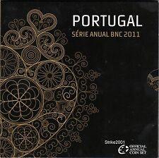 Euro PORTOGALLO 2011 in Folder Ufficiale Zecca