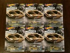 Hot Wheels 2020 Fast & Furious Fast Tuners Nissan 240sx (S14) Gold (Lot of 6)