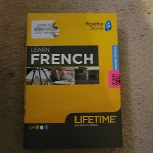 Rosetta Stone FRENCH Lifetime Complete Course