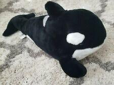 "Sea World Shamu Killer Whales 22"" Plush Stuffed Toy Vintage 90s"