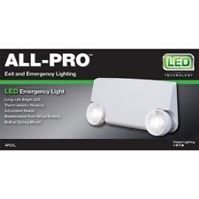 All-Pro Exit Emergency Combo Cooper Lighting (Model: APEL) (Lot of 3)