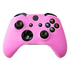 Silicone Soft Case Protect Skin for Xbox One Wireless Controller Light Pink