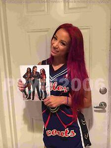 WWE SASHA BANKS HAND SIGNED AUTOGRAPHED 8X10 PHOTOFILE PHOTO WITH PROOF COA 6