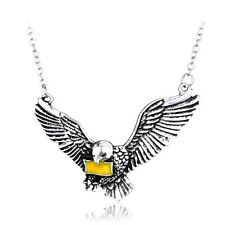 Harry Potter Hedwig The Post Owl With The Letter Of Admission Pendant Necklace