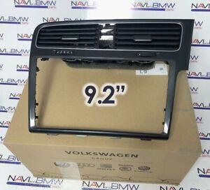 VW Golf MK7 7.5 MIB Discover 2.5 ABT HIGH 9.2 Inch Display Frame for UK AU RHD