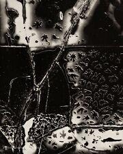 1955 Vintage BRETT WESTON Frost Broken Glass Abstract Original Photo Engraving