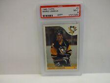 1985 Topps Mario Lemieux Card # 9 Pittsburgh Penguins PSA 9 Mint 27217250