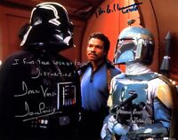 Dave Prowse / Williams Autographed Signed 8x10 Photo ( Star Wars ) REPRINT