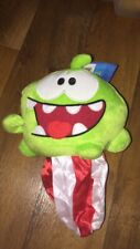 Cut The Rope reversible Om Nom fire plush
