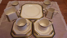 Fabulous 15 piece tea set art deco Hughes Longport
