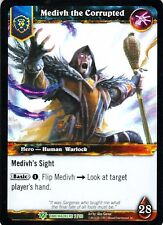 WOW Medivh the Corrupted TIMEWALKERS 7/30 FOIL WORLD OF WARCRAFT ENG MINT RARE 1