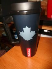 Tim Hortons Plastic Travel Mug - Canadian Maple Leaf - 2020 - New