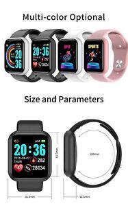 Waterproof Smart Watche heart rate smart Bracelet blood pressure exercise Watchs