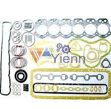 6SD7 overhaul gasket set kit for Mitsubishi engine TRUCK BUS 5400 FK102 B623
