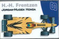 Aimant magnet Prost 1999 Formule 1 Formula 1 F1 Heinz Harald Frentzen Jordan