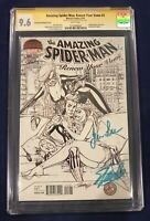 Amazing Spider-Man: Renew Your Vows 2 CGC 9.6 Signed -Stan & Joanie Lee MISPRINT