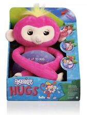 Fingerlings HUGS Pink-Bella Interactive Plush Monkey