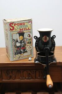 Spong & Co Ltd Vintage Cast Iron Coffee Mill/Grinder - New & Boxed