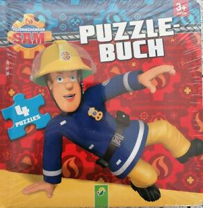 Feuerwehrmann Sam Puzzlebuch (4 Puzzles)